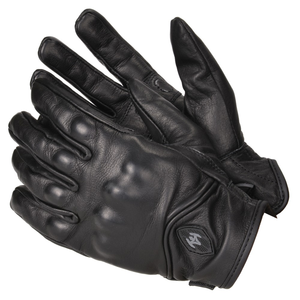 Black leather gloves on sale - Product Information