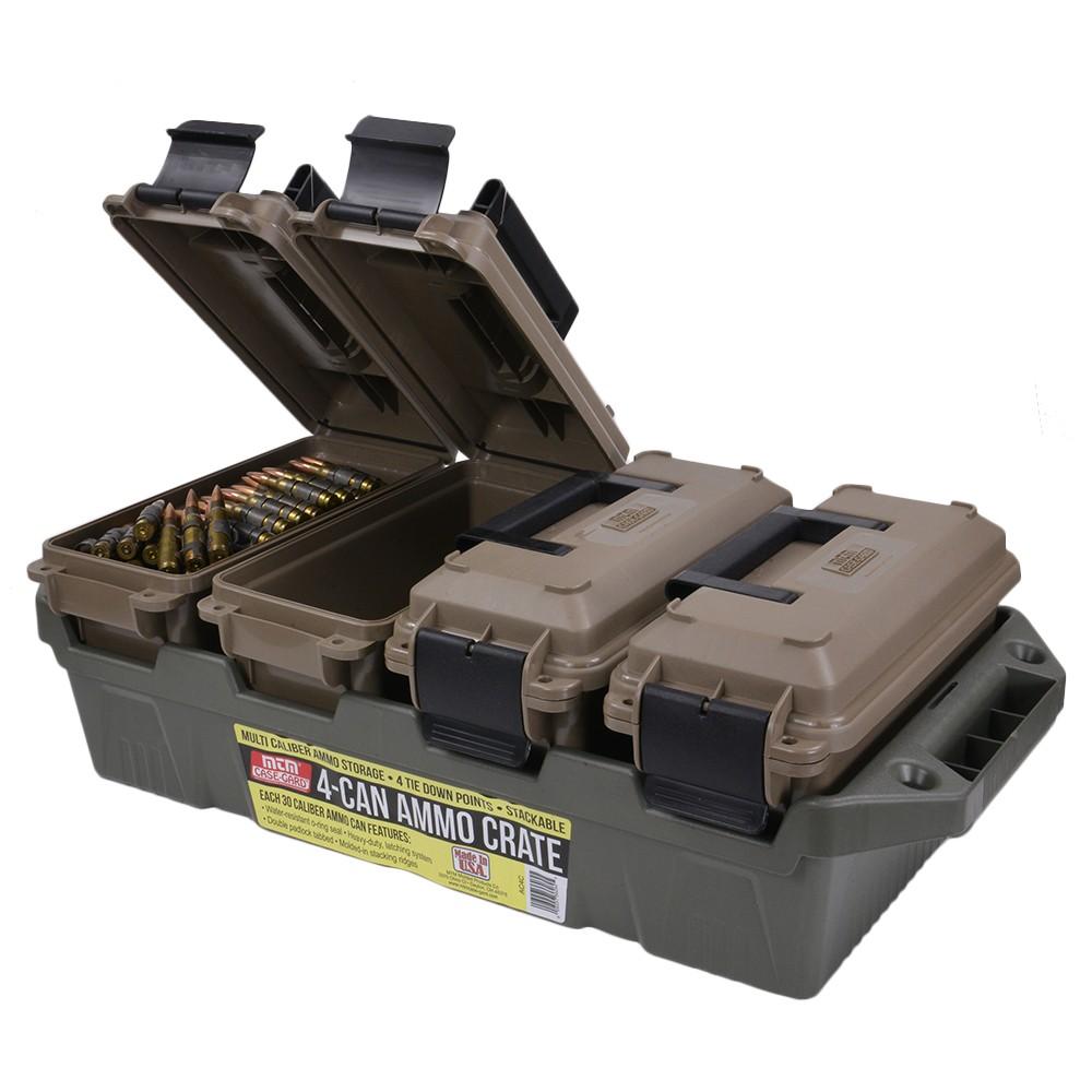 MTM 樹脂製 アモカン .30cal  弾薬ケース 4個セット