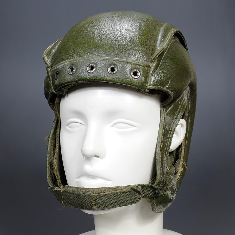 フランス軍放出品 タンカースヘルメット 戦車兵装備