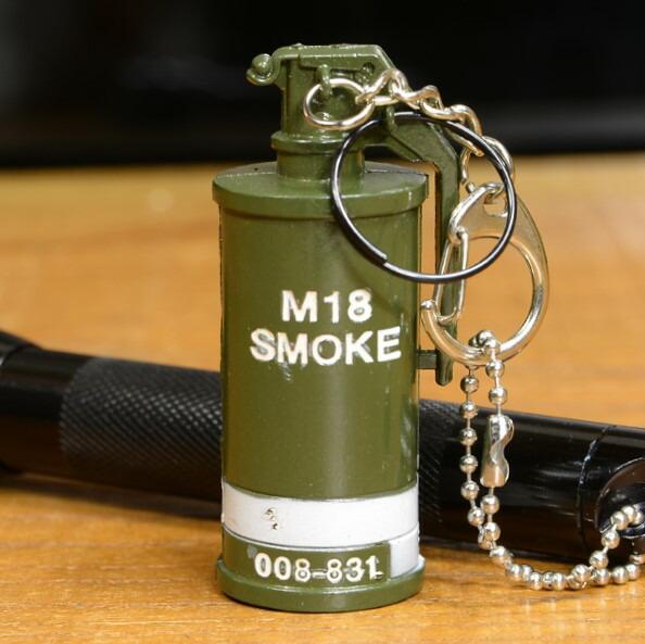 M18 発煙手榴弾型 キーホルダー