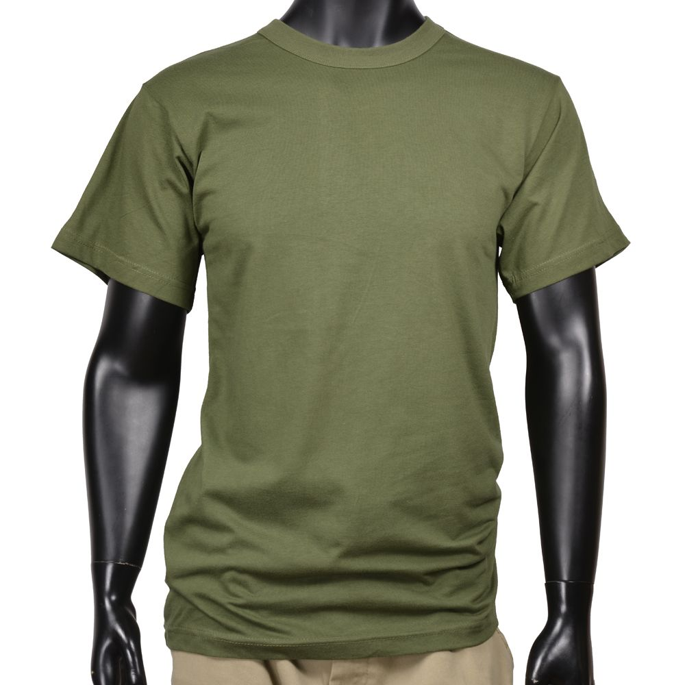 ROTHCO military brand short-sleeved T shirt. Skin-friendly cotton 100% is a  plain crew neck t-shirt.  Note  size is a US size 24896bb51f7