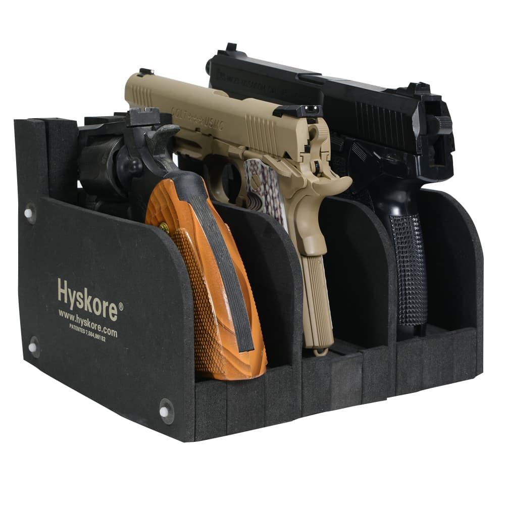 Hyskore ハンドガンラック Modular Pistol Rack ウレタンフォーム 収納用品