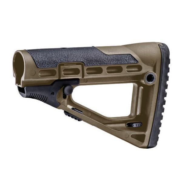 CAAタクティカル 実物 スケルトンスタイル バットストック AR15/M4対応