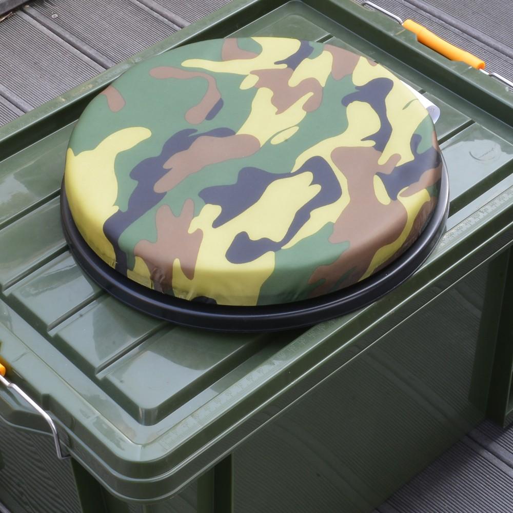 ALEEN ペール缶 ガロンバケツ用 回転式 クッション