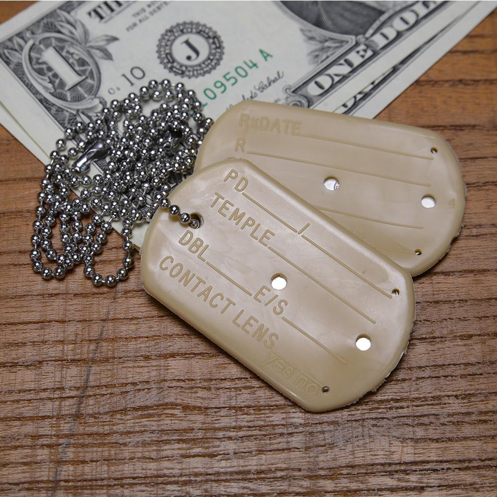 米軍放出品 ドッグタグカバー サイレンサー 2個セット