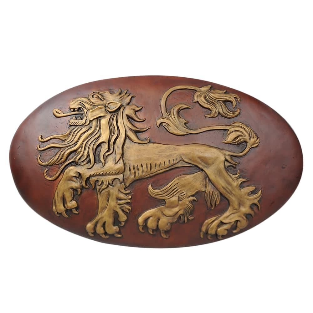 Valyrian Steel 盾 ゲームオブスローンズ ラニスターシールド 木製 1/1スケール