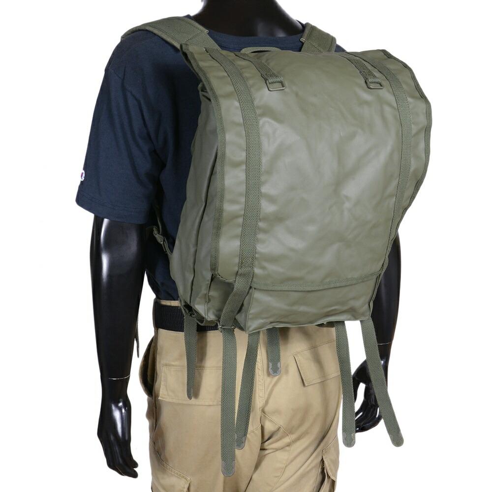 フランス軍放出品 F-1 ナイロン製 バックパック