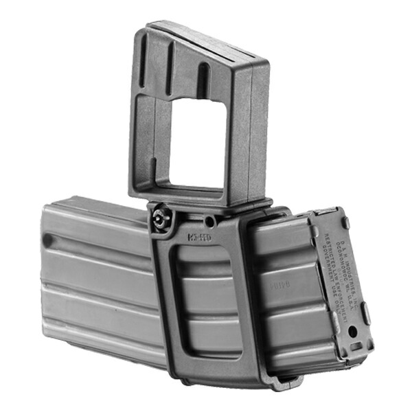 FABディフェンス 実物 MTH マガジンキャリア M16/M4系 水平タイプ