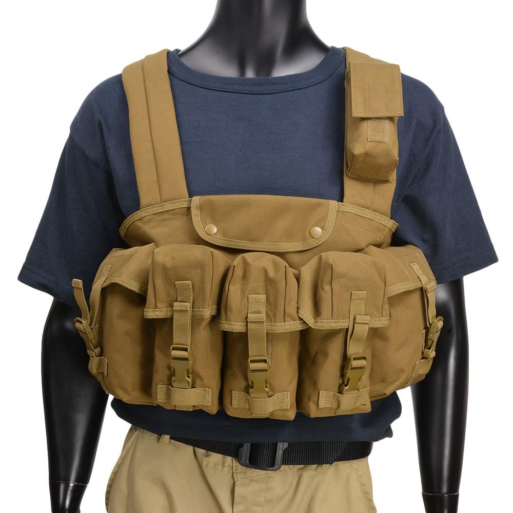 CONDOR チェストリグ M16マガジン6本 CR