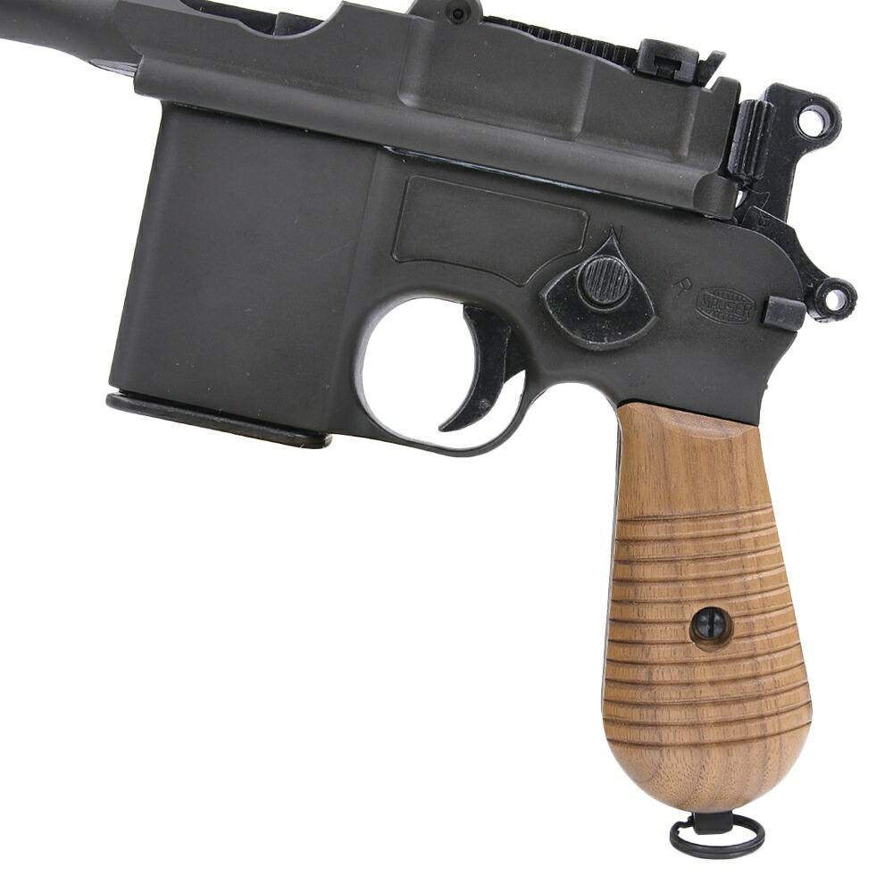 Marushin wooden grip stock Mauser M712 rubber grip gun custom parts custom  grips for
