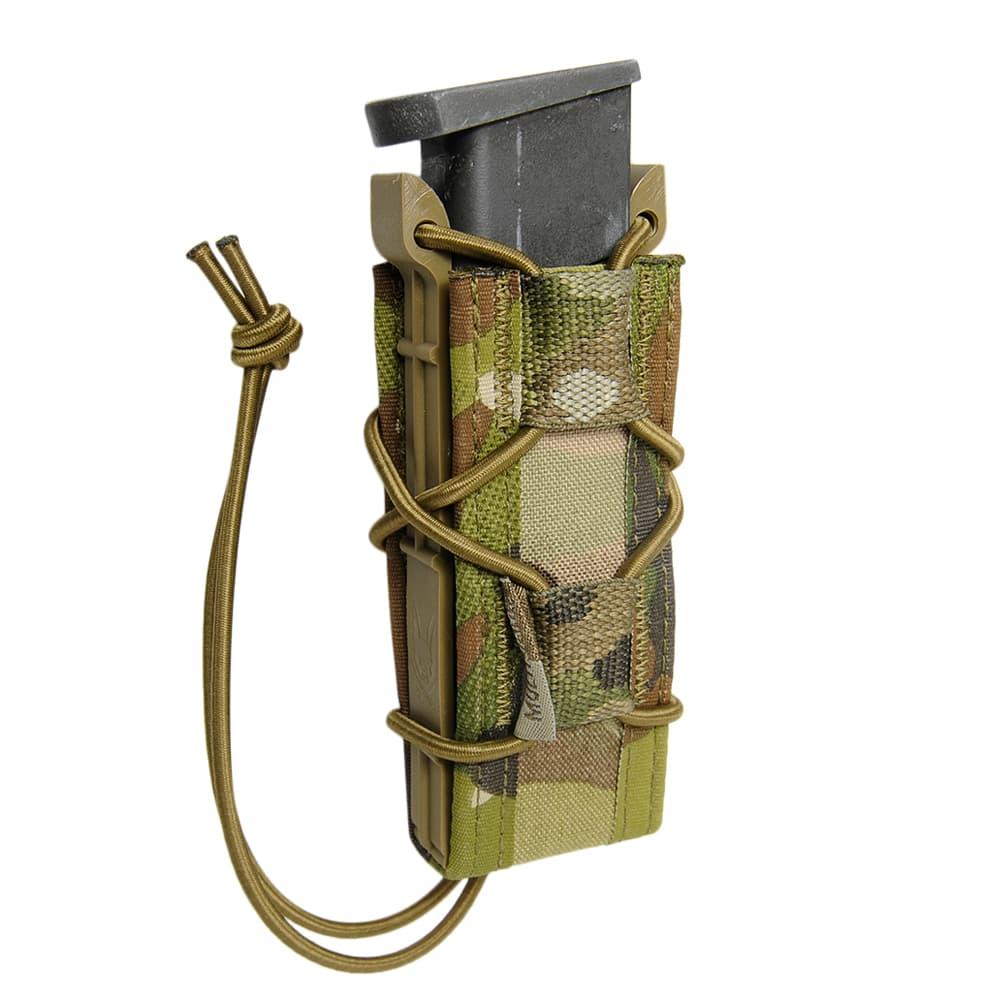 WARRIOR ASSAULT SYSTEMS  実物 シングルクイックマグポーチ 9mm弾用