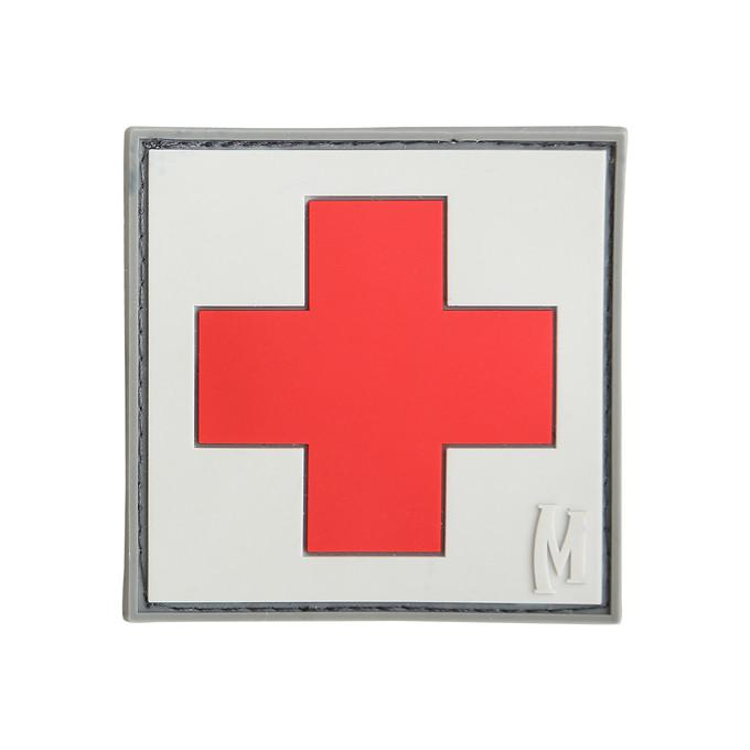 MAXPEDITION パッチ 赤十字マーク PVC製 ベルクロ