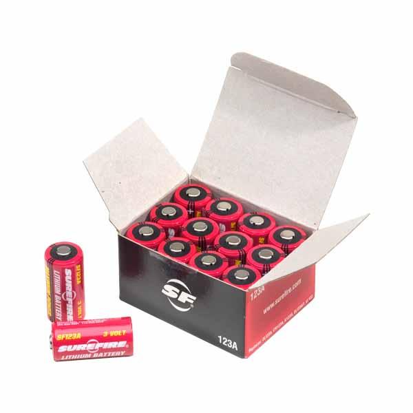 シュアファイア リチウム電池 SF123A