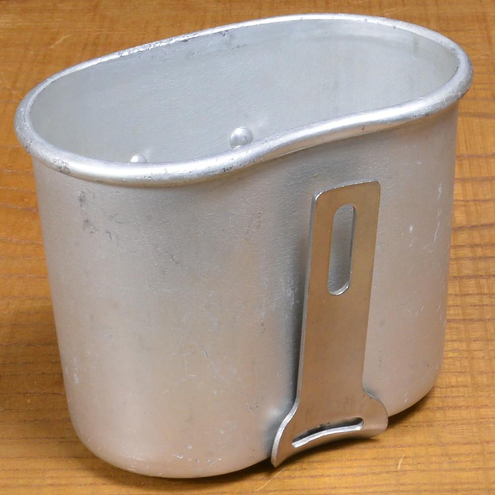 ベルギー軍放出品 キャンティーンカップ アルミ製