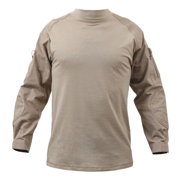 Rothco コンバットシャツ カーキ 90030