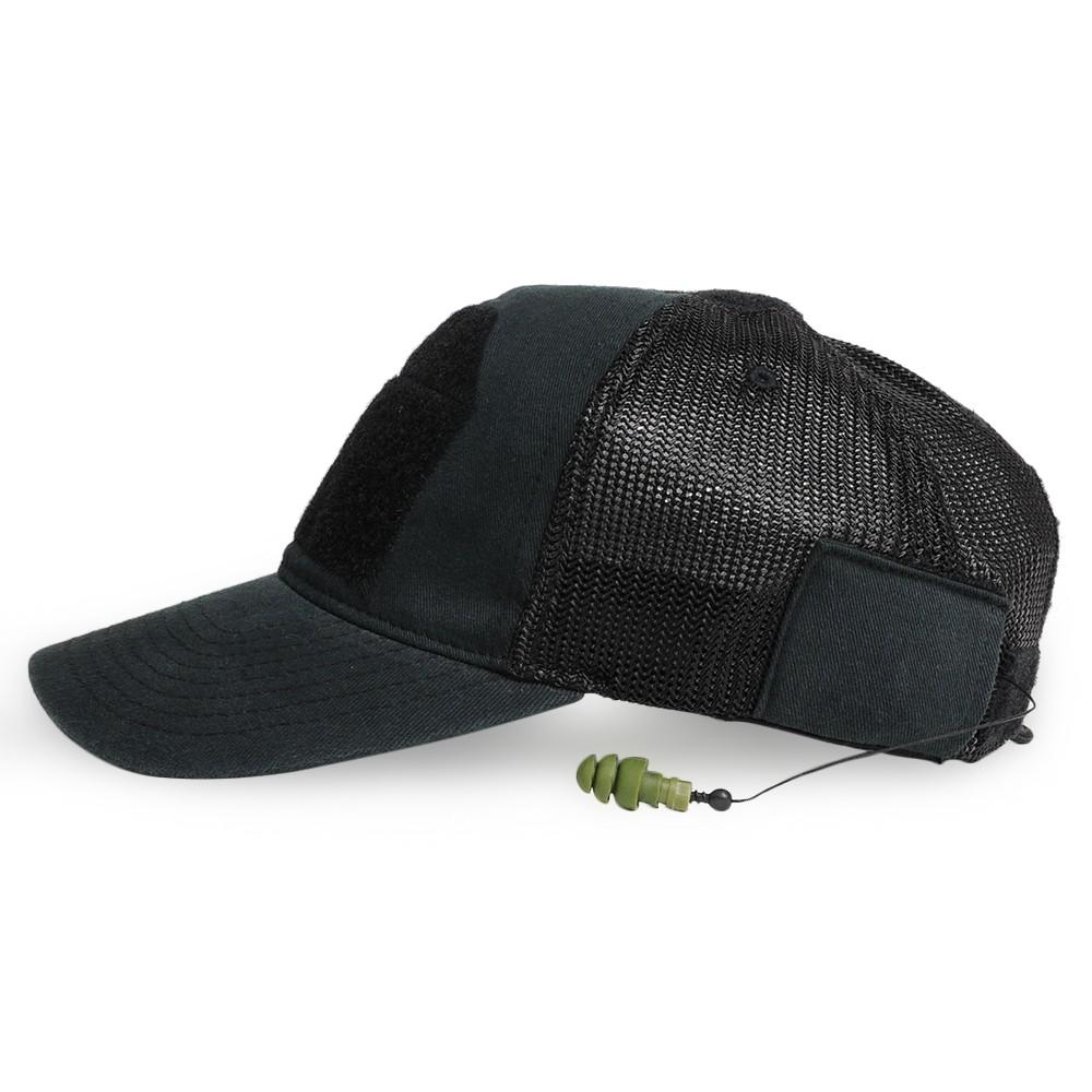 MIL-SPEC MONKEY ear plug deluxe baseball cap baseball cap men work cap hat  military cap with mil specifications monkey CG-HAT mesh cap DLUX earplugs