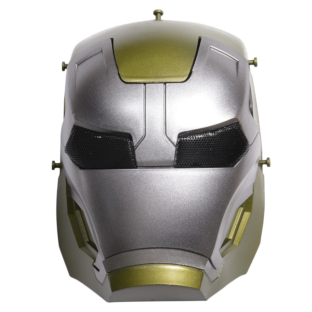 Face guard wire mesh iron man 2 [gold] face mask full-faced helmet guard  costume play
