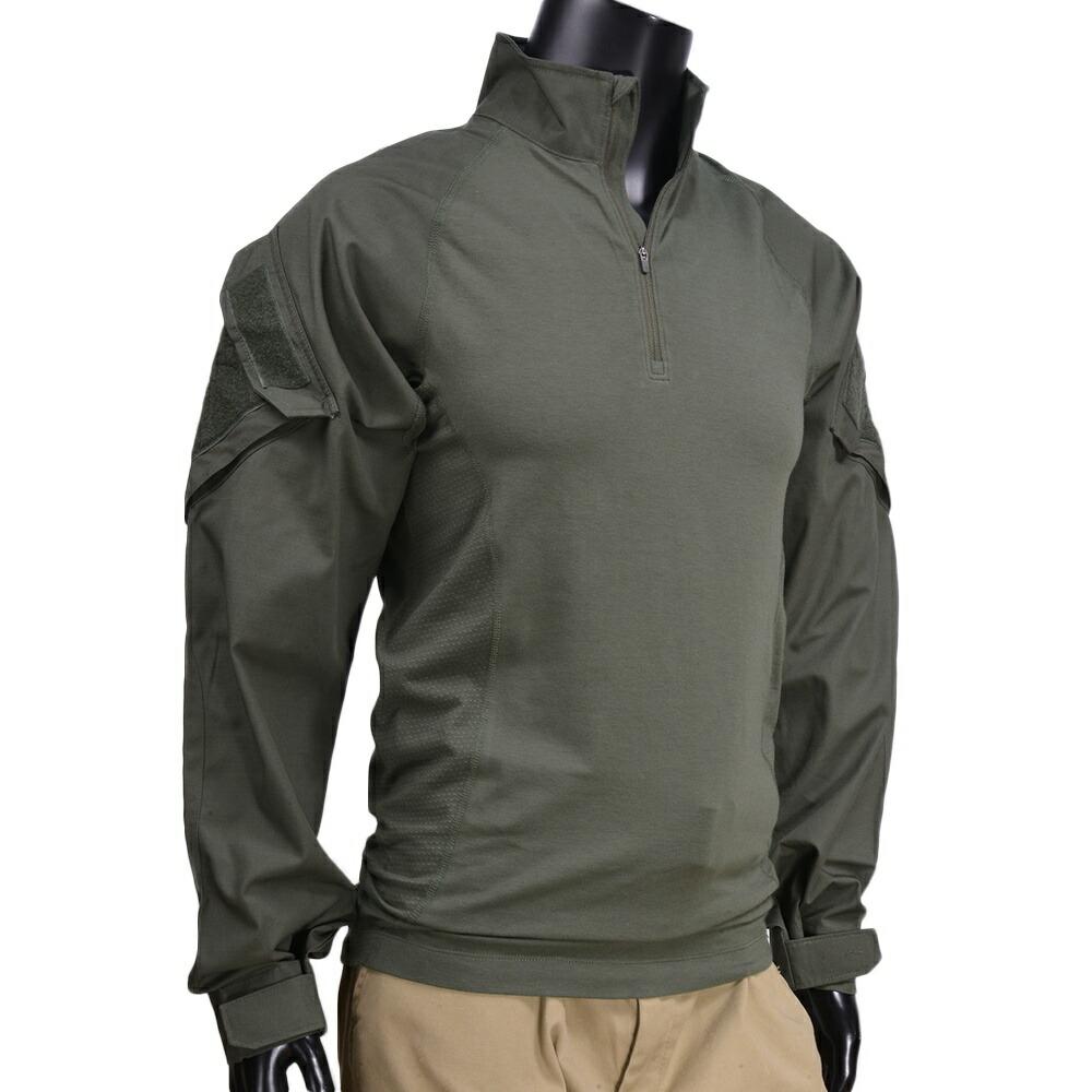 長袖シャツ TDUシャツ アサルトシャツ ロングTシャツ 72194 ラピットアサルト ミリタリーシャツ 5.11Tactical アーミーシャツ 長そでシャツ 5.11タクティカル [ TDUグリーン / Mサイズ ] 511