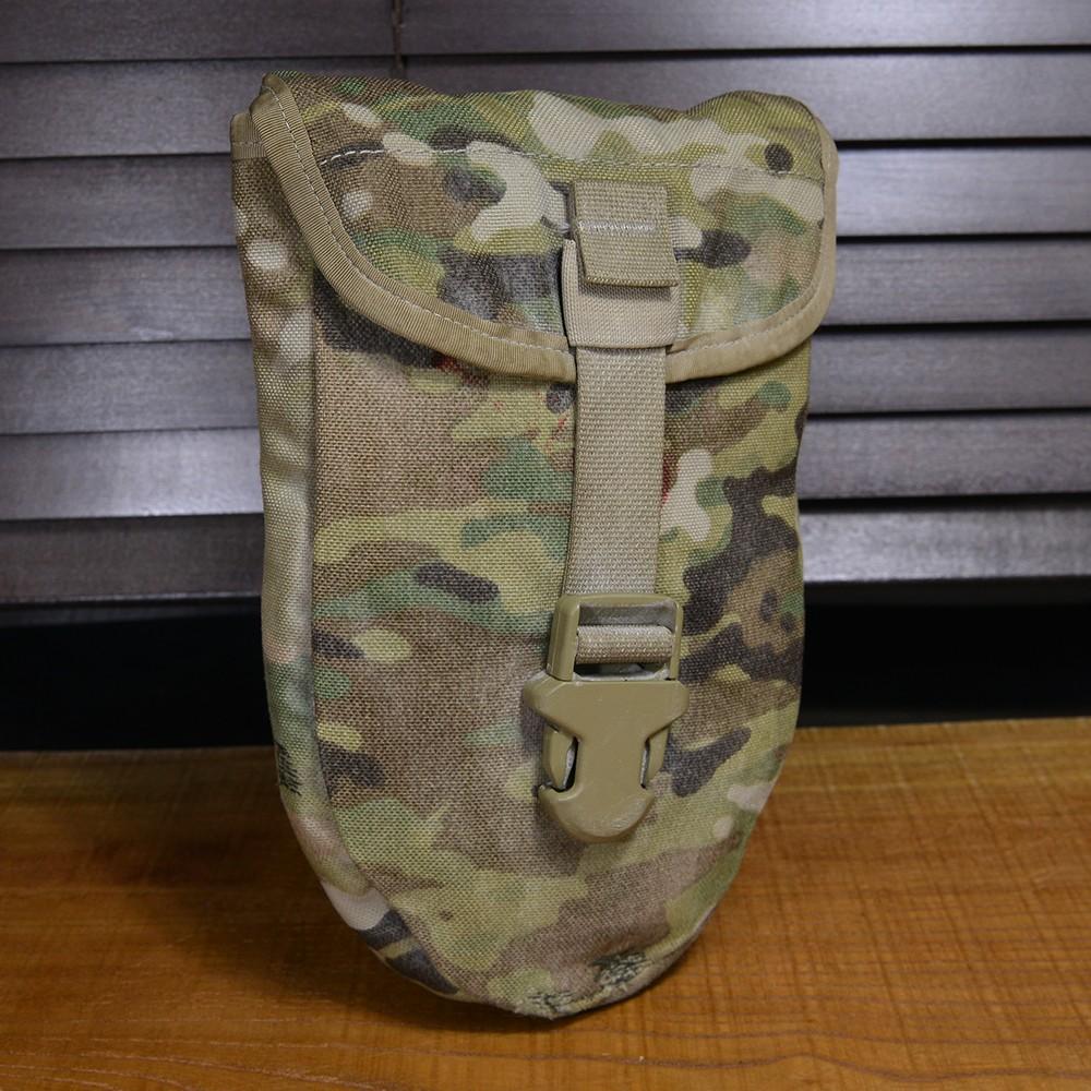 米軍放出品スコップカバー折りたたみスコップ用マルチカム