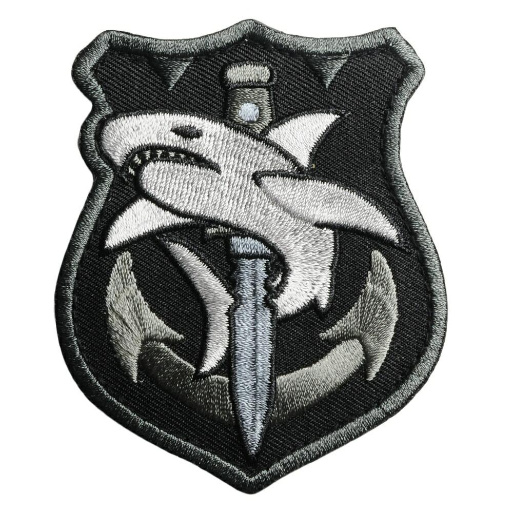 MIL-SPEC MONKEY ミリタリーパッチ Tac Shark  ベルクロ