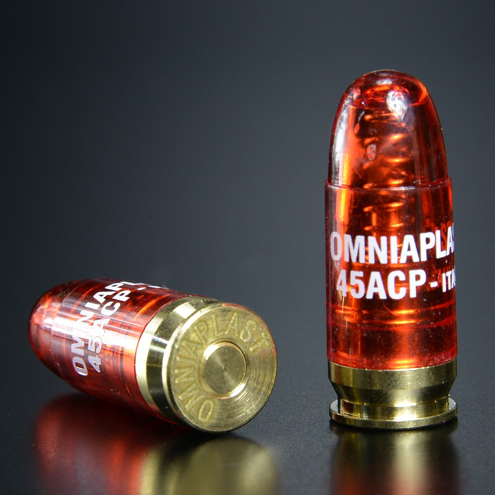 OMNIAPLAST スナップキャップ .45ACP弾 5個セット