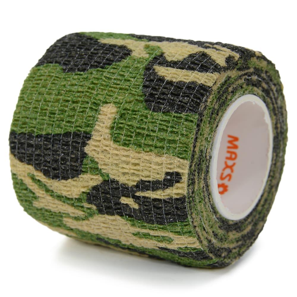 カモフラージュテープ 布製 クイックテープ 迷彩 幅5cm