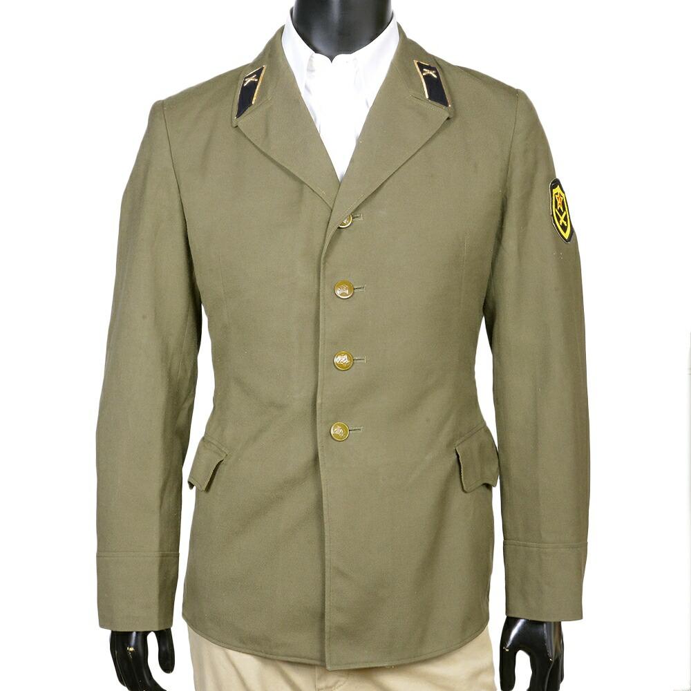 ロシア軍放出品 フィールドジャケット 陸軍将校用 オリーブドラブ