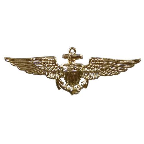 Rothco ピンバッジ 1654 米軍徽章 海軍飛行士 ゴールド