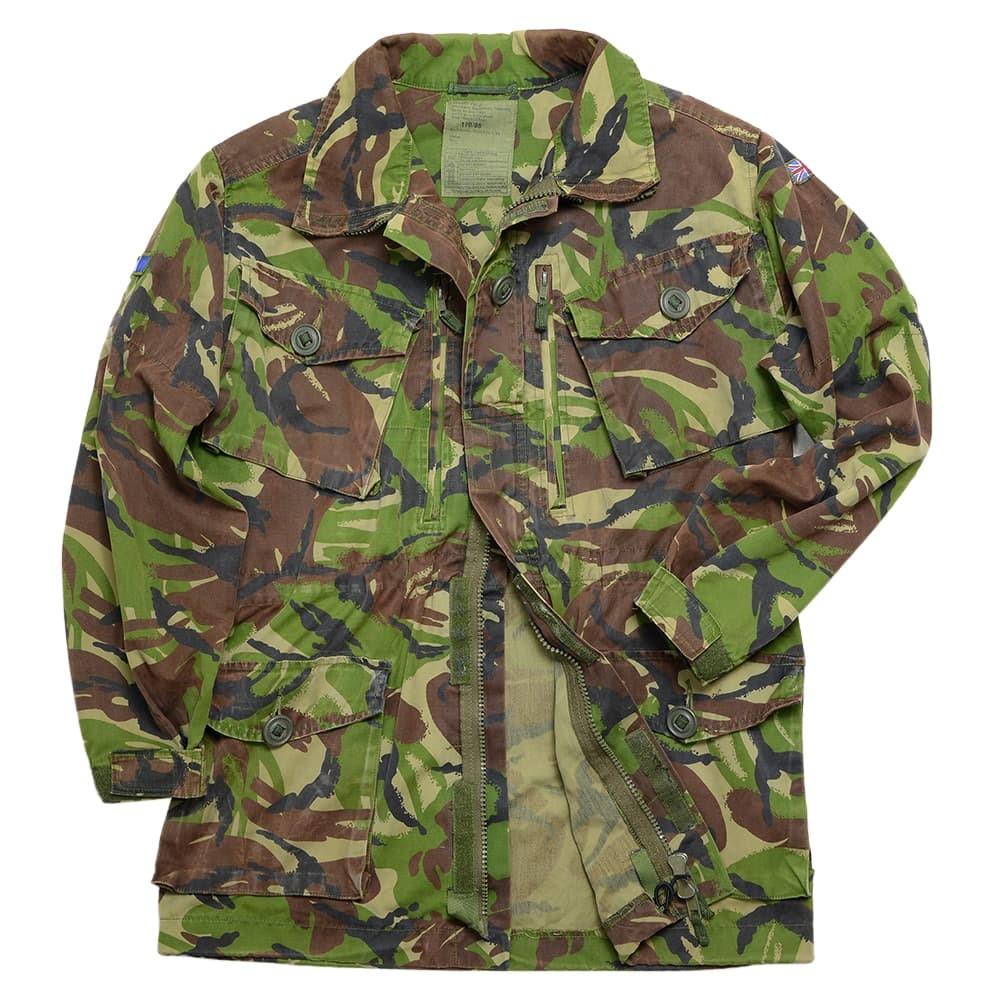 イギリス軍放出品 フィールドジャケット DPM迷彩 前6ポケット仕様