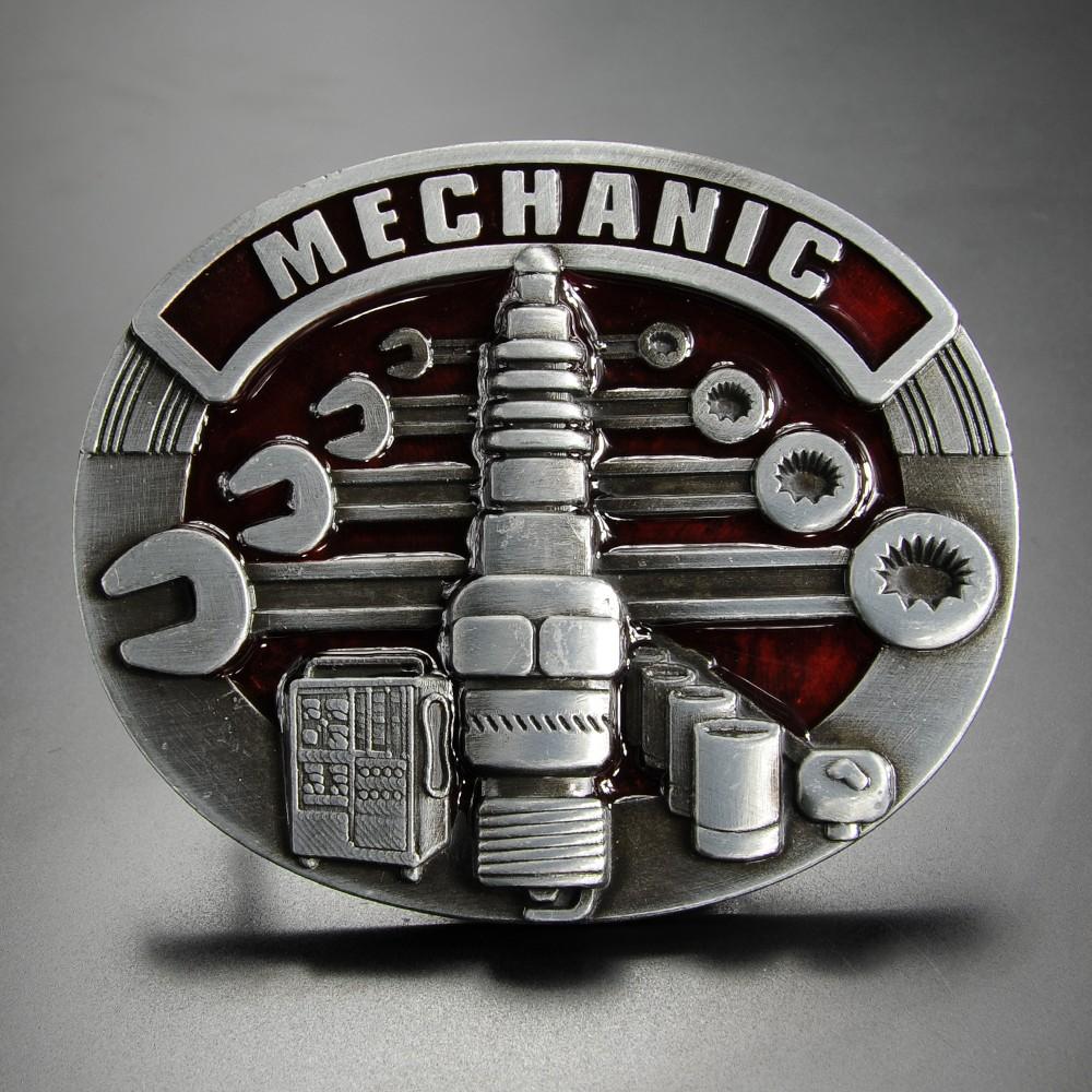 ベルトバックル 整備士 MECHANIC