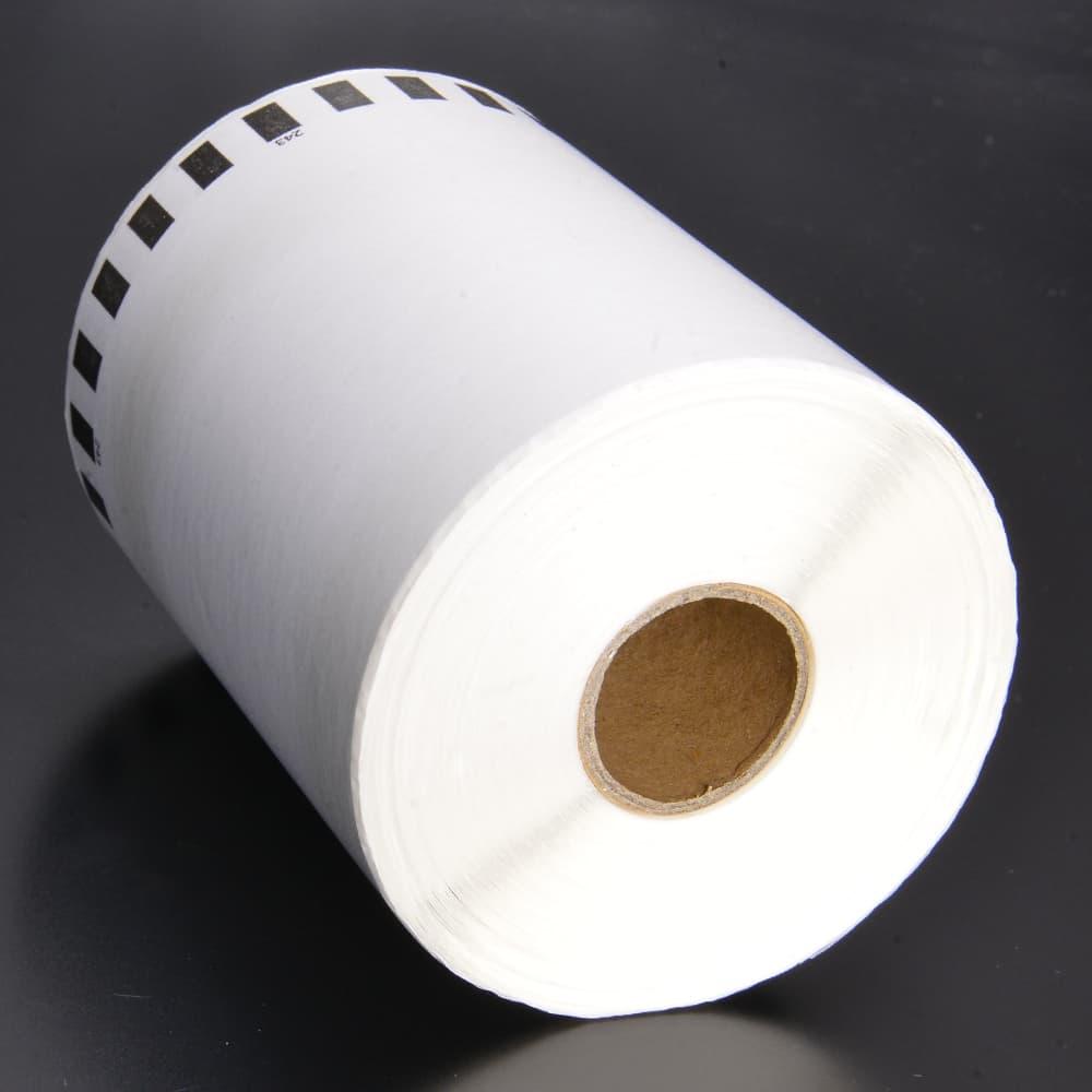 感熱 ロールラベル 幅102mm×30.48m巻 DK-2243 QL-1050 互換