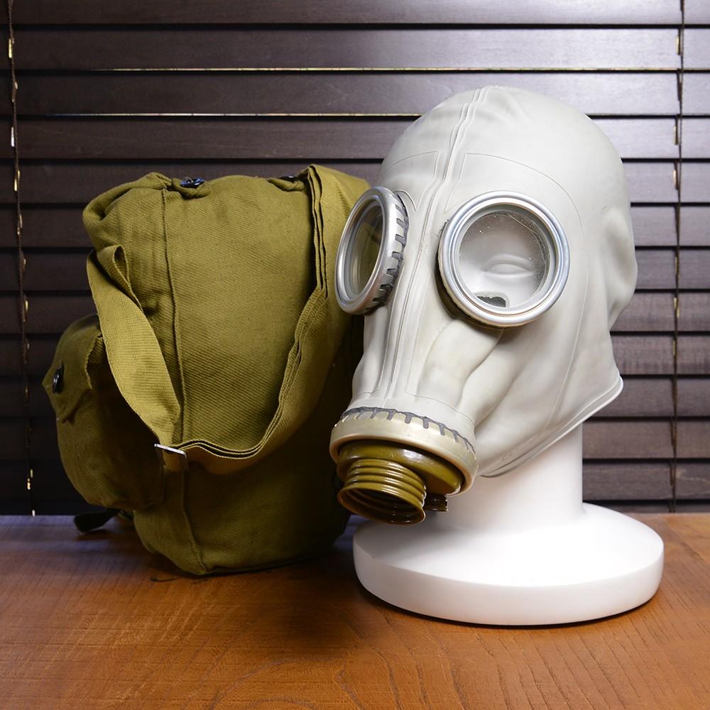ロシア軍放出品 ガスマスク GP-5 専用バッグ付き