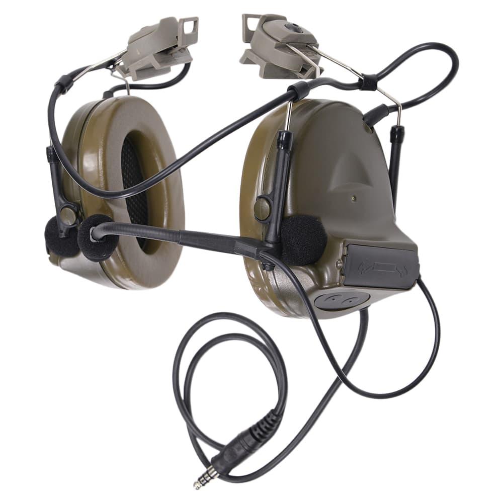 Z-Tactical タクティカルヘッドセット FASTヘルメット用 Comtac II モデル