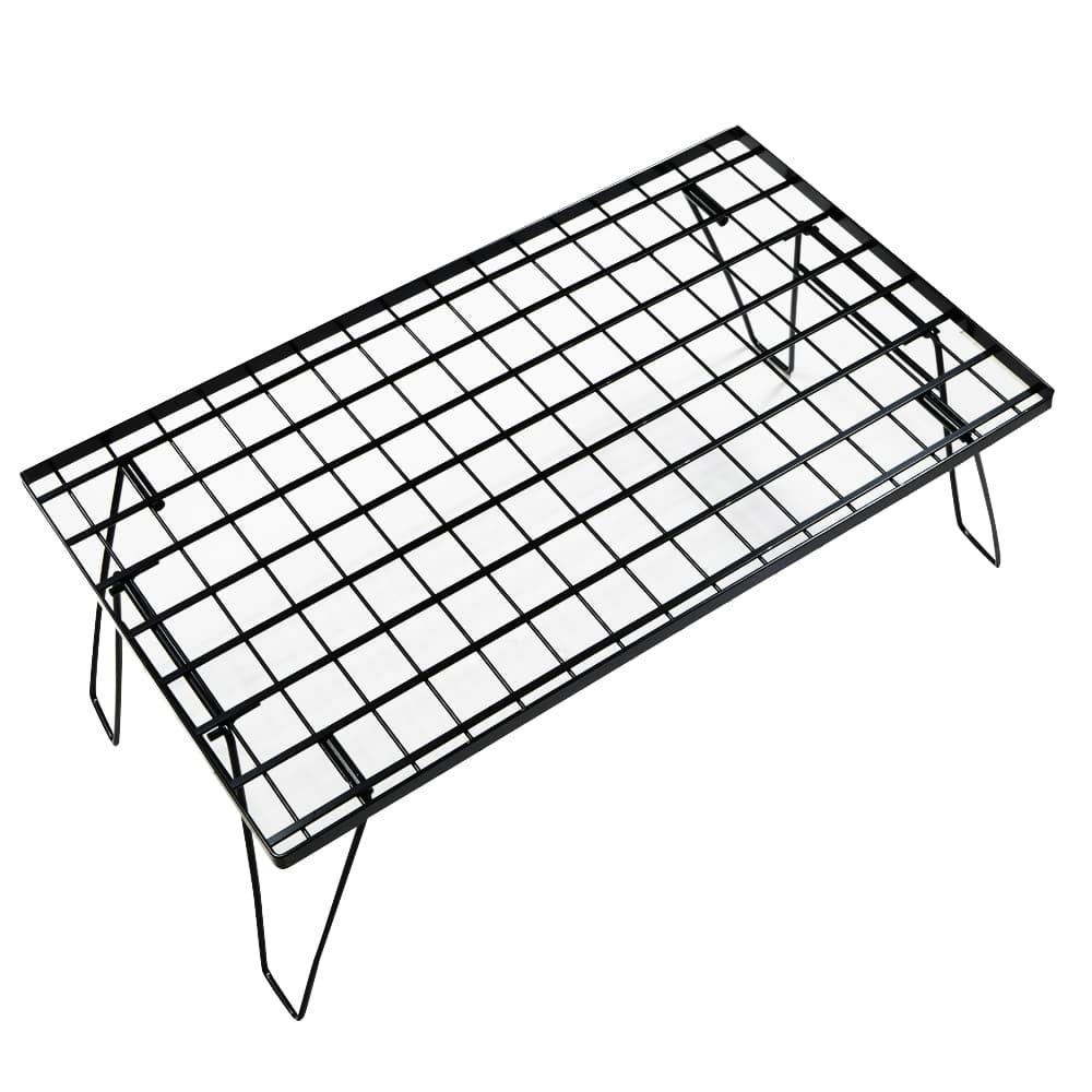バーベキューテーブル 幅60.5×35.5 高さ24 キャンプ アウトドア