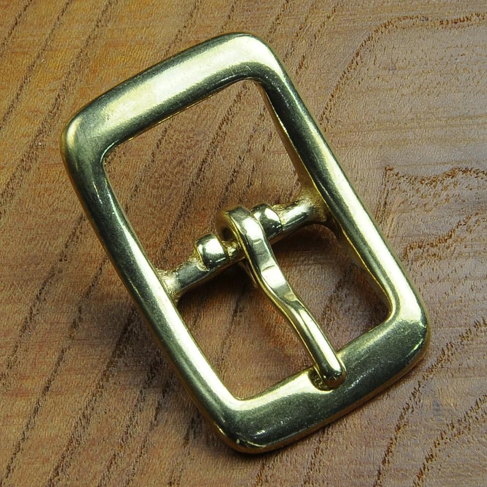 舟型美錠 バックル 真鍮製 ピン溝入り