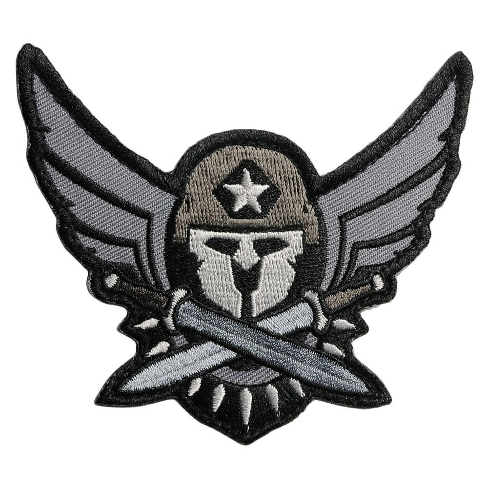 MIL-SPEC MONKEY ミリタリーパッチ Modern Spartan ベルクロ付き