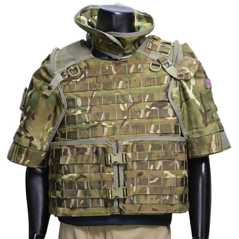 イギリス軍放出品 オスプレイ MK4 ボディアーマーセット MTP迷彩