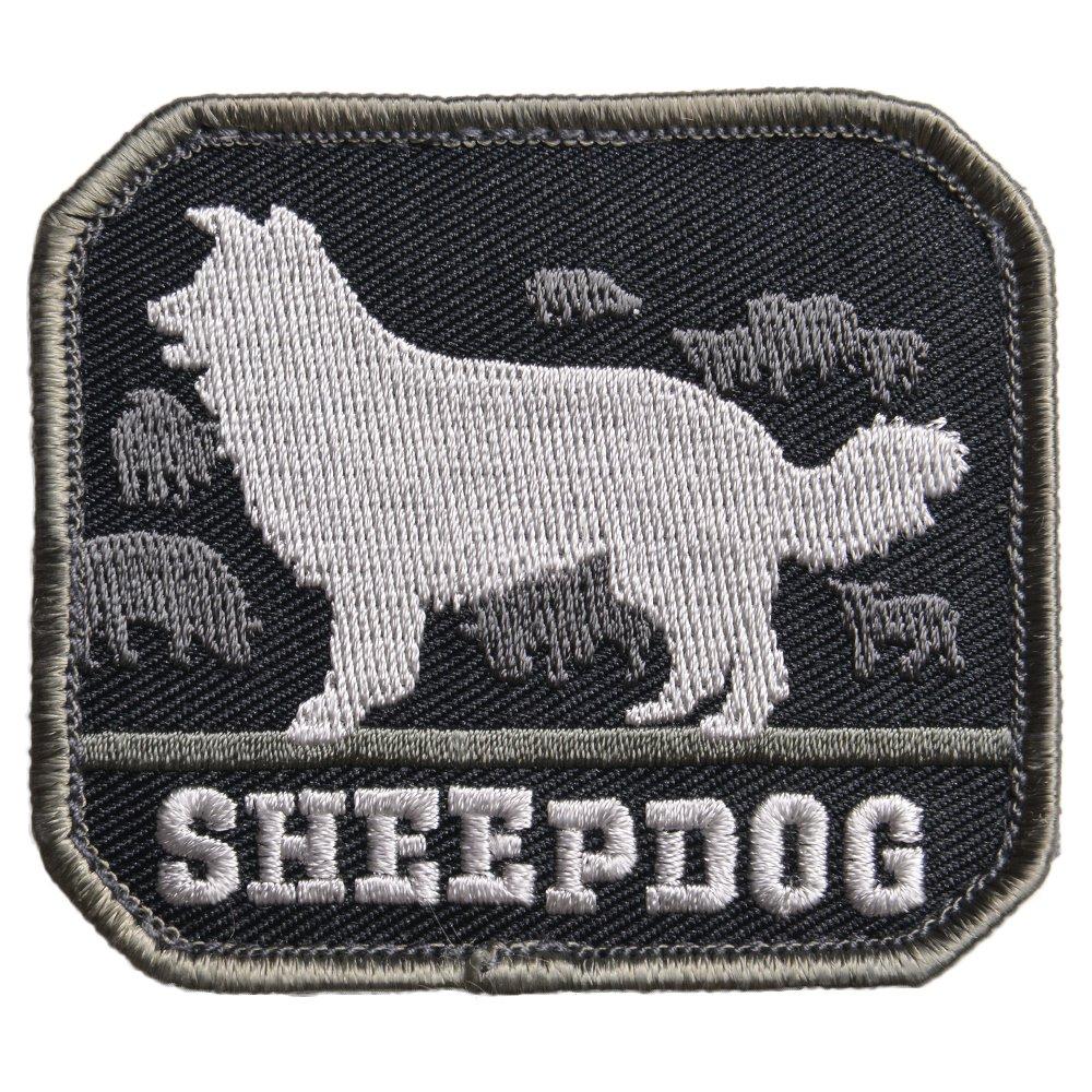MIL-SPEC MONKEY ミリタリーパッチ Sheepdog ベルクロ付き