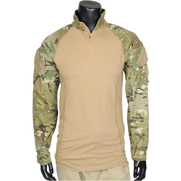 Outdoor imported goods repmart rakuten global market 5 for Mens military style long sleeve shirts