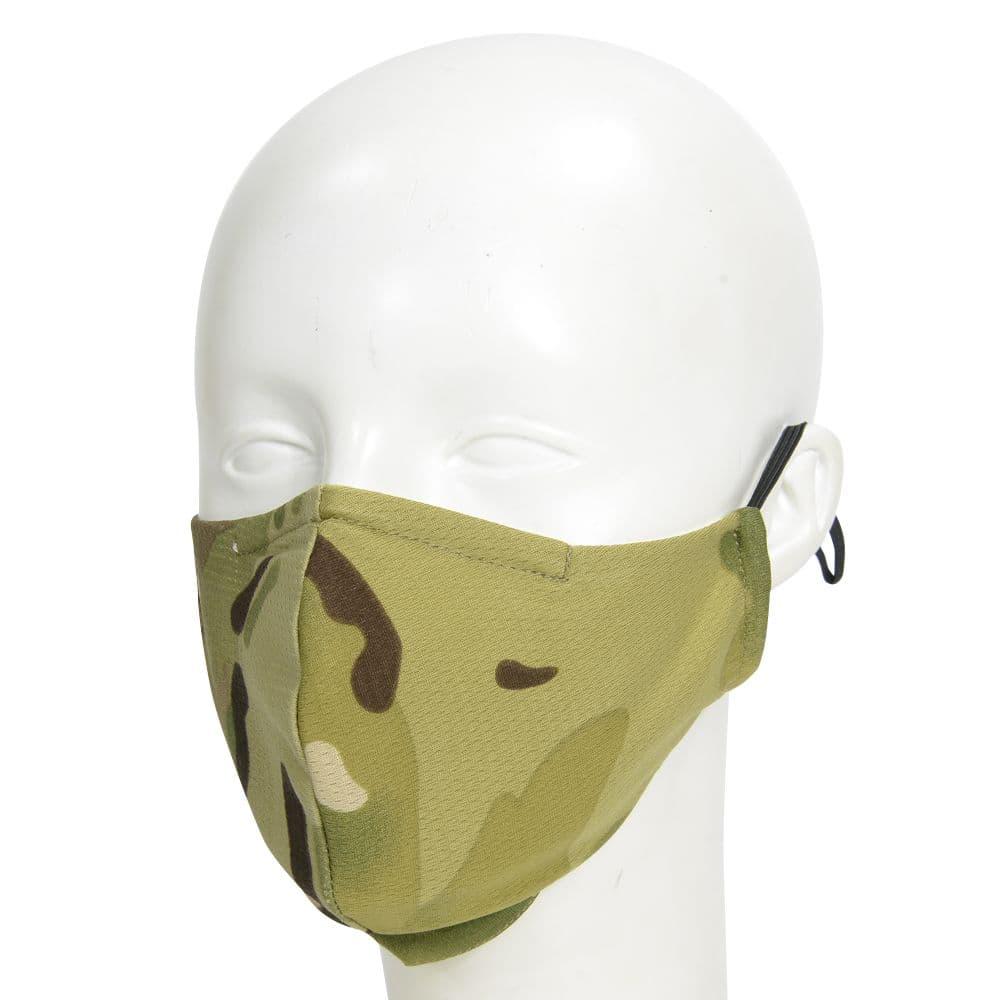 立体型マスク 迷彩柄 アウトドア 調整可能イヤーループ 丸洗い可