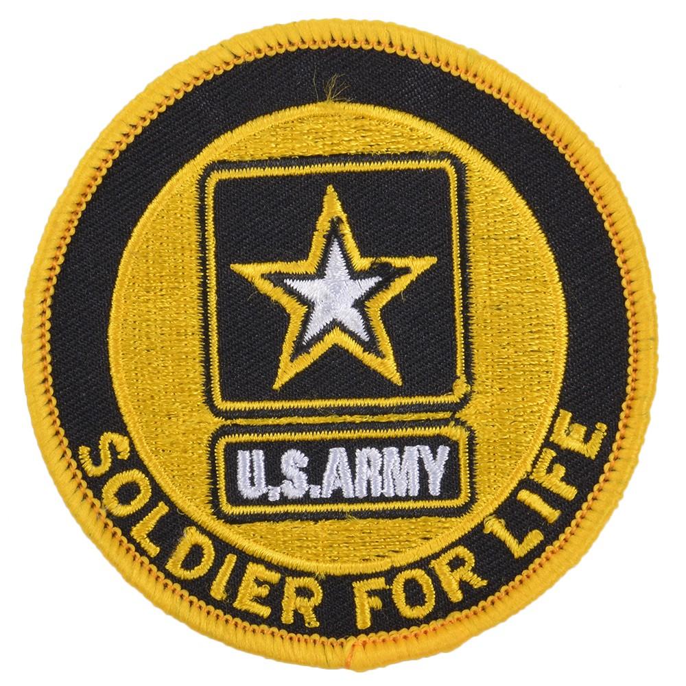 ミリタリーワッペン アメリカ陸軍 紋章 U.S. ARMY アイロンシート付