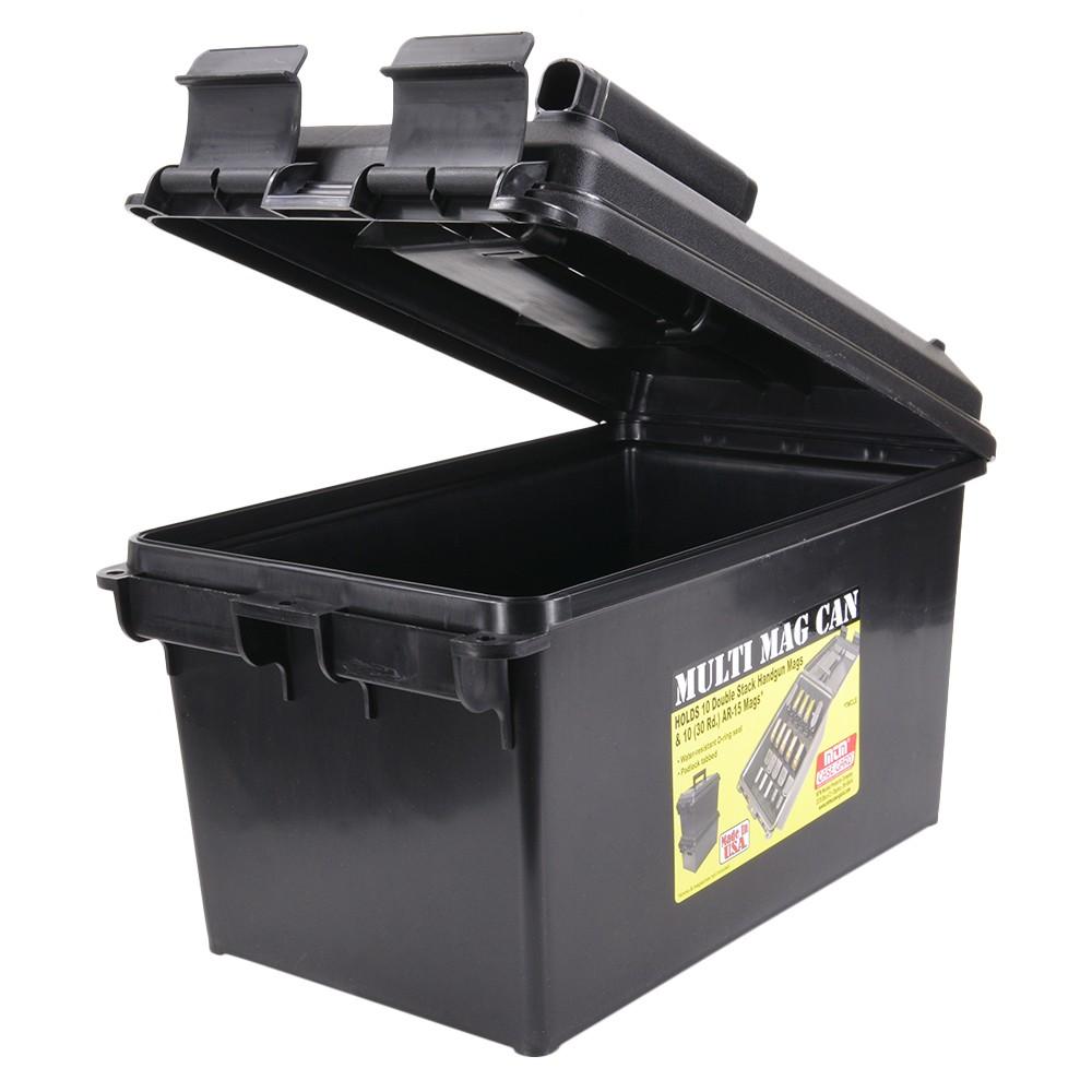 MTM 樹脂製 マガジンボックス M4マグ ピストルマグ 各10本収納可能