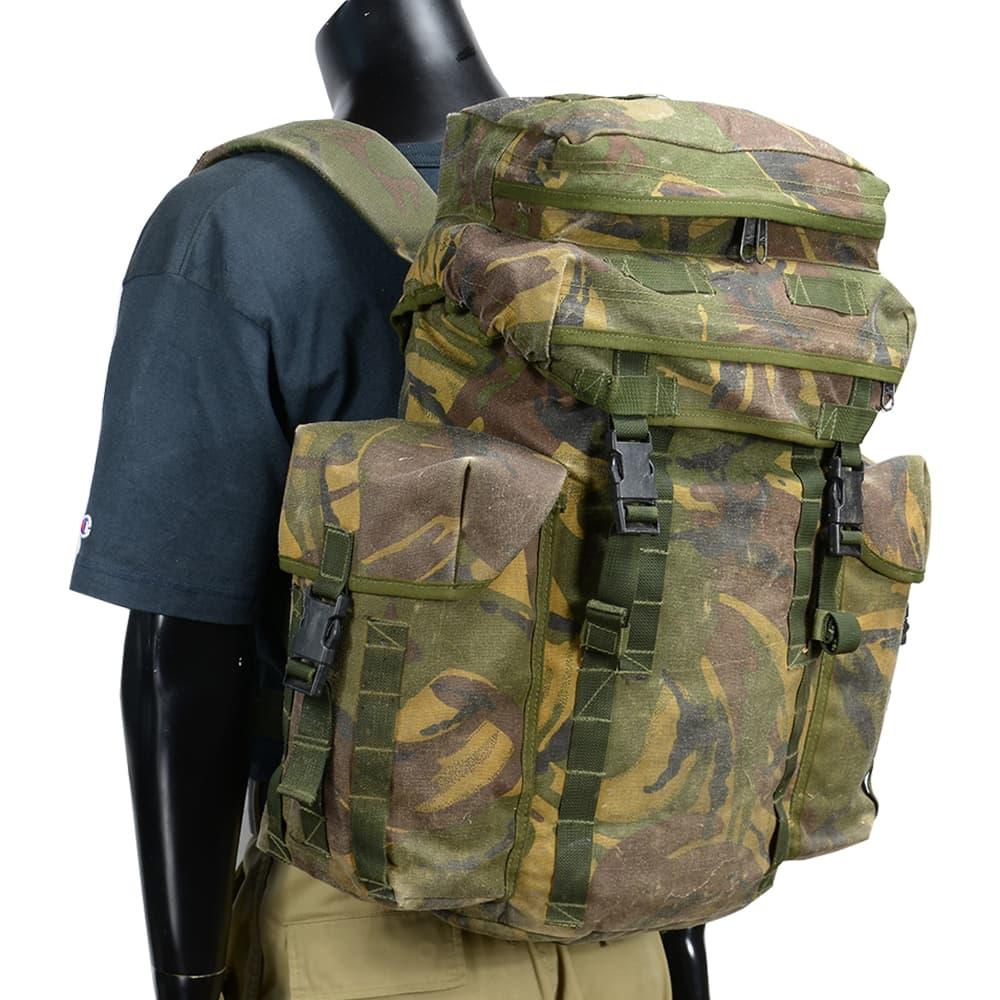 イギリス軍放出品 バックパック パトロールパック 30L DPM迷彩 2ポケットフラップ