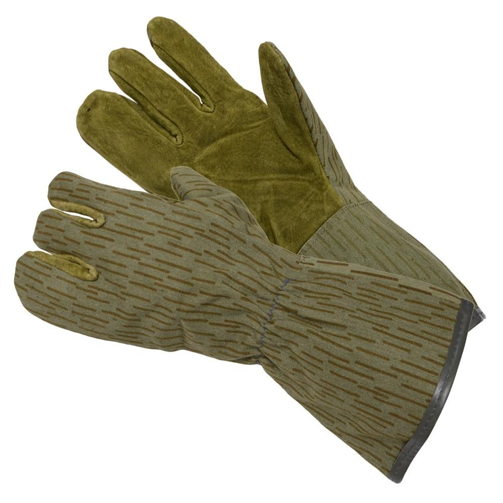 ドイツ軍放出品 防寒手袋 ミトン 東ドイツ レインカモ
