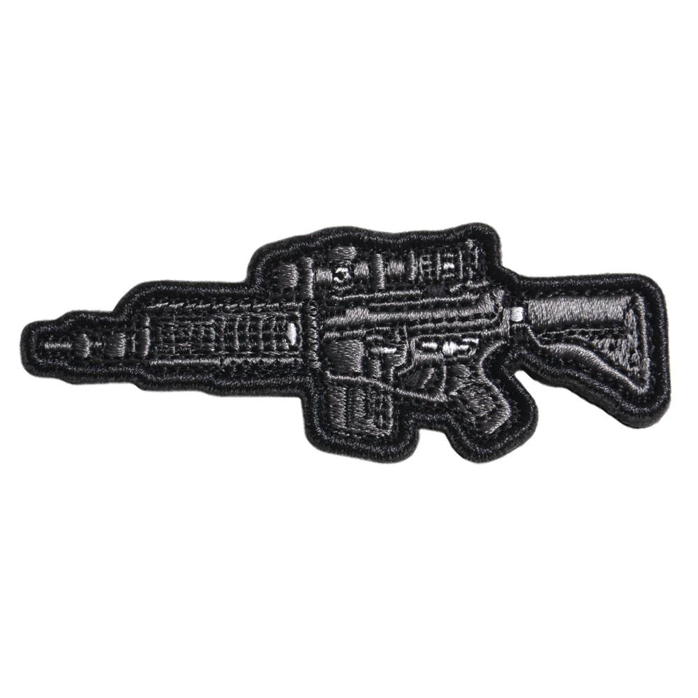 ミリタリーワッペン SPR MK12 Mod 0 ライフル 刺繍 ベルクロ