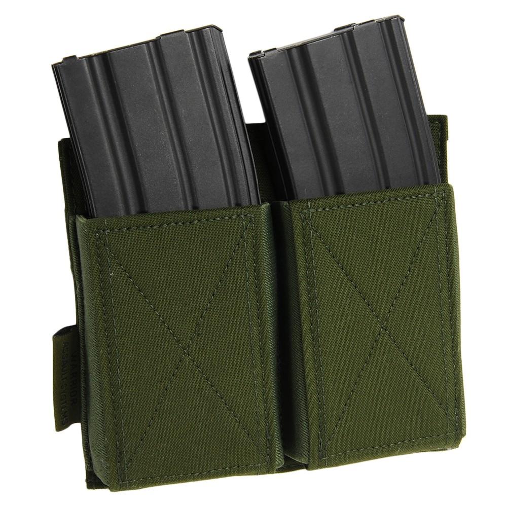 WARRIOR ASSAULT SYSTEMS 実物 ダブルマグポーチ M4/AK MOLLE対応