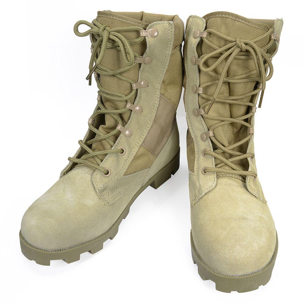 Reptile  Rothco jungle boots GI Desert Tan 5057  8R (26.0 cm ... 96c63a764d6