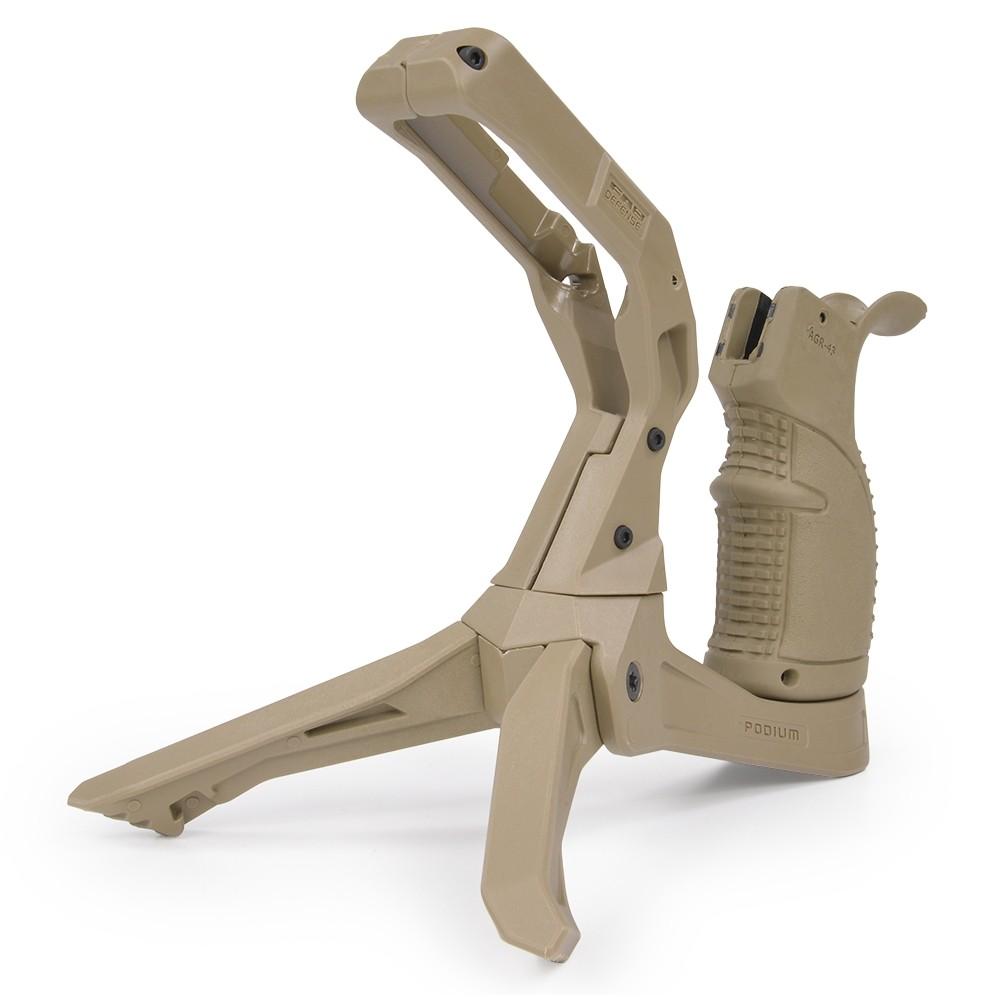 Tactical Snake Type Grip Handlebar Foregrip Rail Grip Huntting Assessory