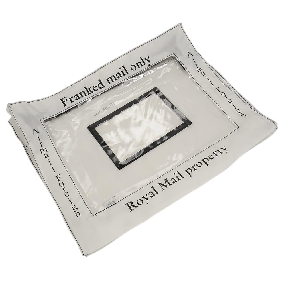 レターバッグ 郵便袋 ロイヤルメール社 ナイロン製 ホワイト