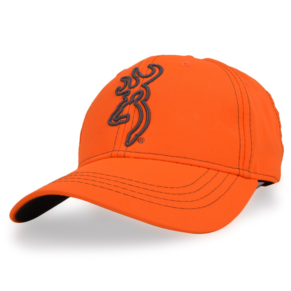 Entering Browning baseball cap blaze orange Hi-Viz Blaze logo Browning  automatic pistol Orange high biz blaze baseball cap men work cap hat  military cap ... dc3b9cdcb45